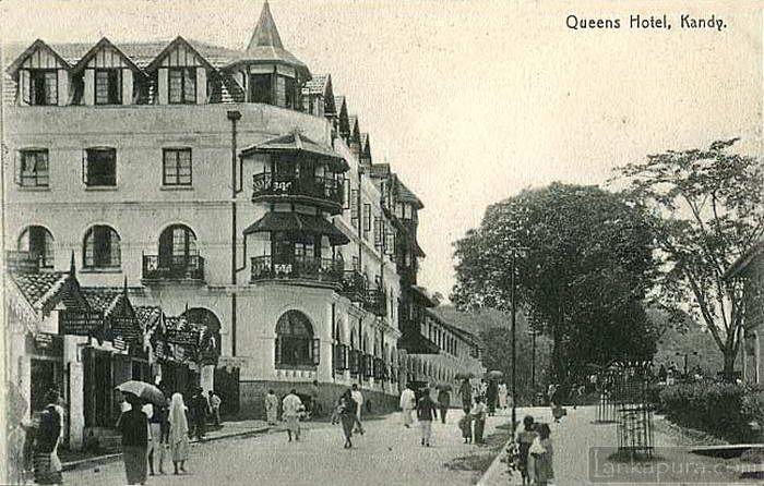 Queens Hotel Kandy 1910 1920s Ceylon Queens Hotel Hotel Sri