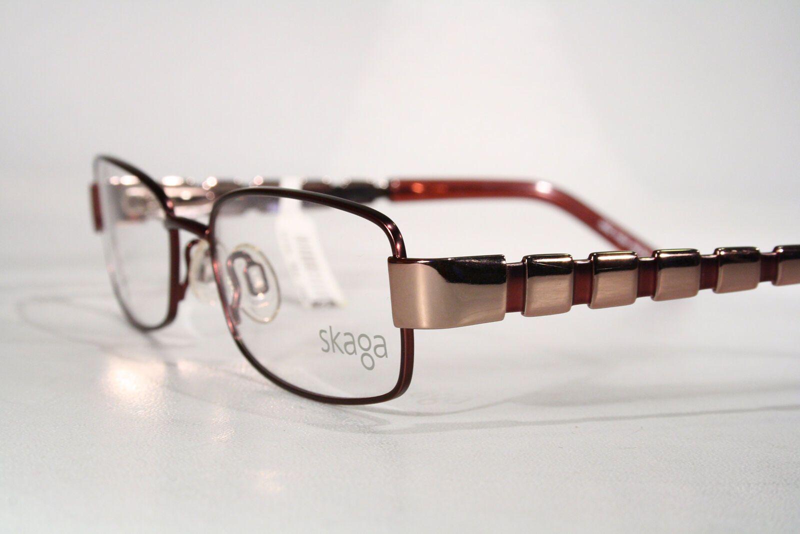 1e8ceb5eca Women s Purple   Rose Gold SKAGA Swedish Eyeglass Frames Glasses  Medium-Small   eBay (RipVanW)