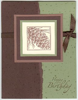 Close To Nature Birthday by BeckyInMa - Cards and Paper Crafts at Splitcoaststampers