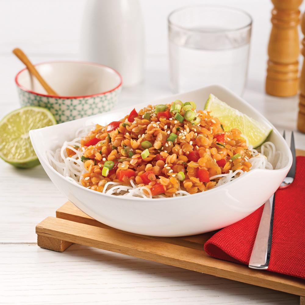 Lentilles à la coréenne - 5 ingredients 15 minutes ...