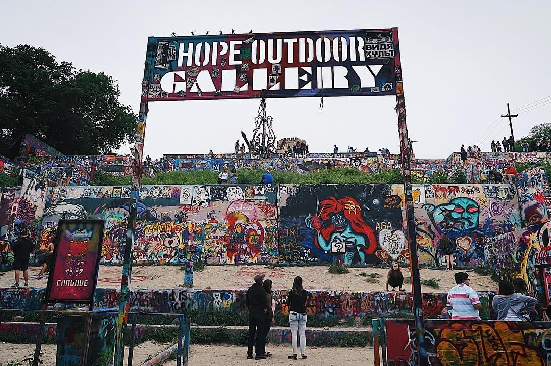 Austin is amazing even on a budget free and interactive