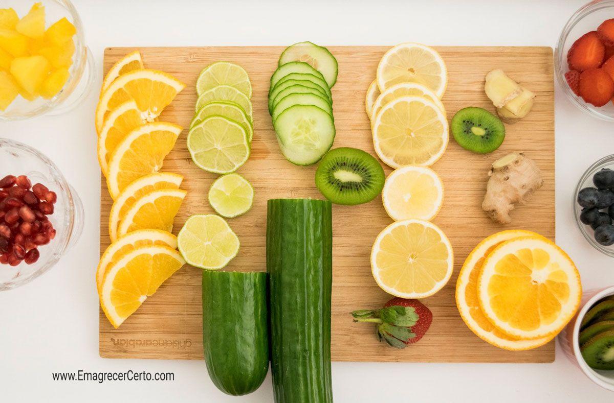 5 Receitas De Aguas Aromatizadas Com Efeito Detox Receita Agua