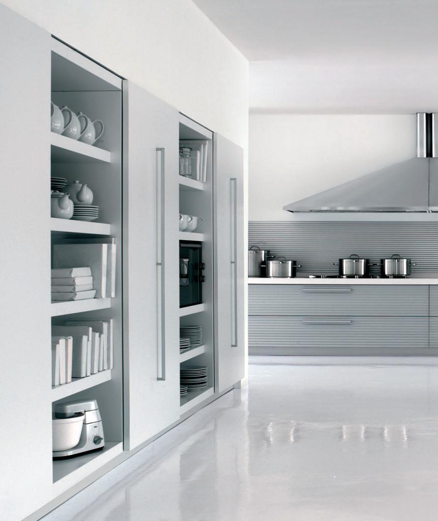 Futuristic Kitchens Futuristic Kitchen Space Interior Design Ideas Amazing Kitchen Kitchen Cabinets Sliding Doors Kitchen Wall Cabinets Kitchen Room Design