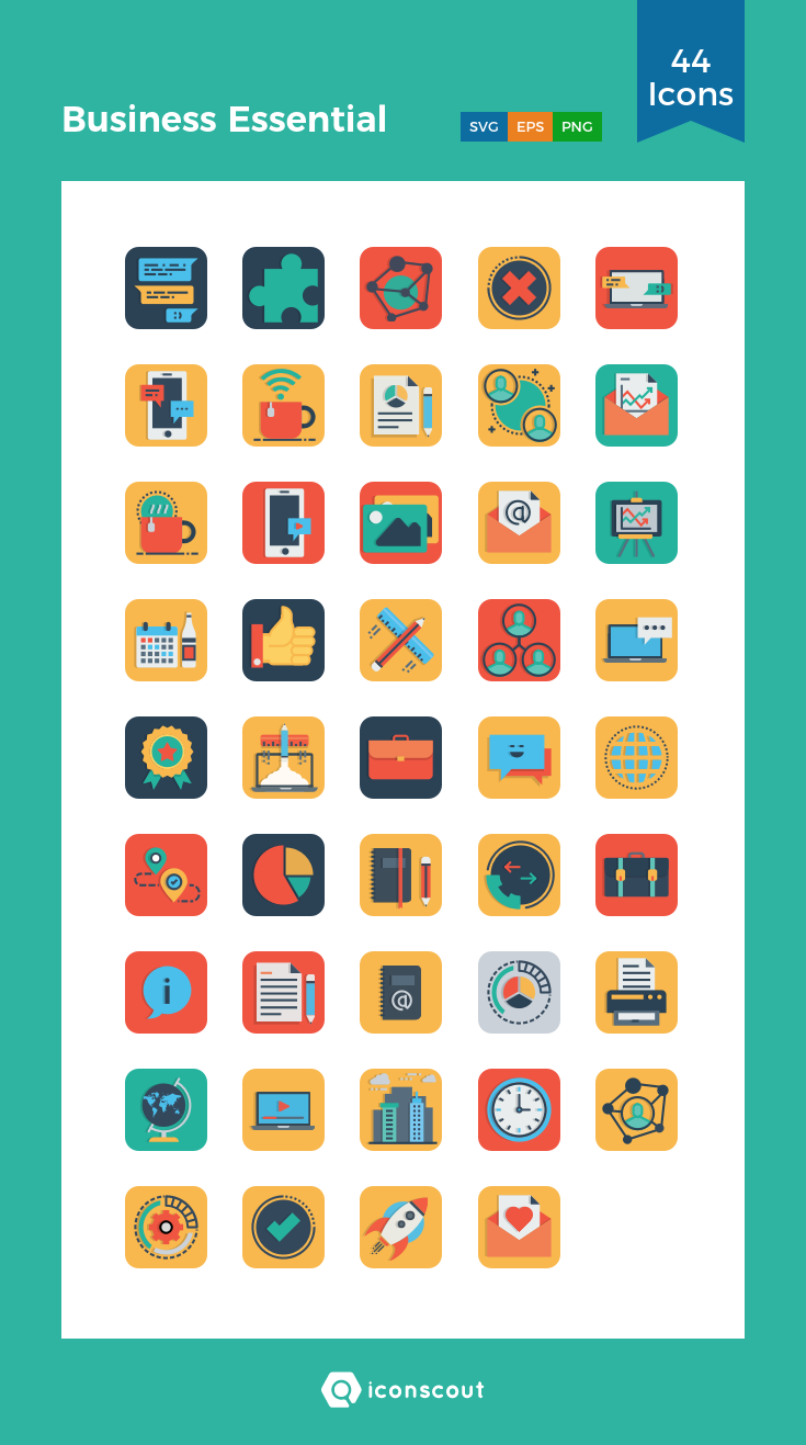Download Download Business Essential Icon pack - Available in SVG ...