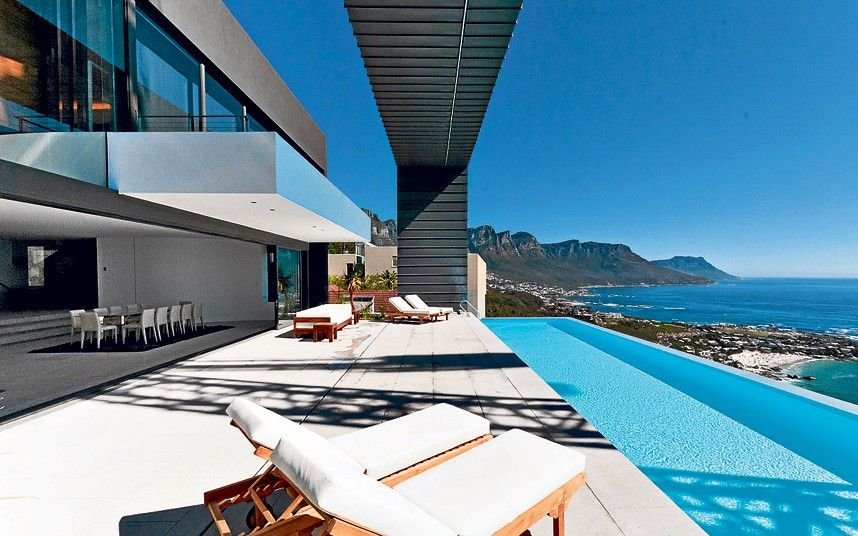 Homes For Sale With The Worlds Best Views Cape Town South - House cape town amazing infinity pool