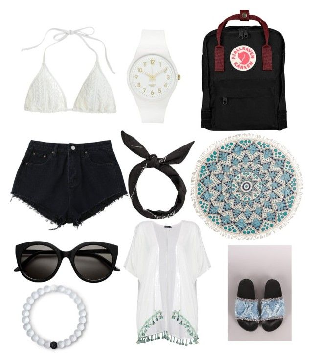 beach vibes 2.0 by antoniawielandto on Polyvore featuring polyvore fashion  style Boohoo J.Crew Fjà 6813aa851