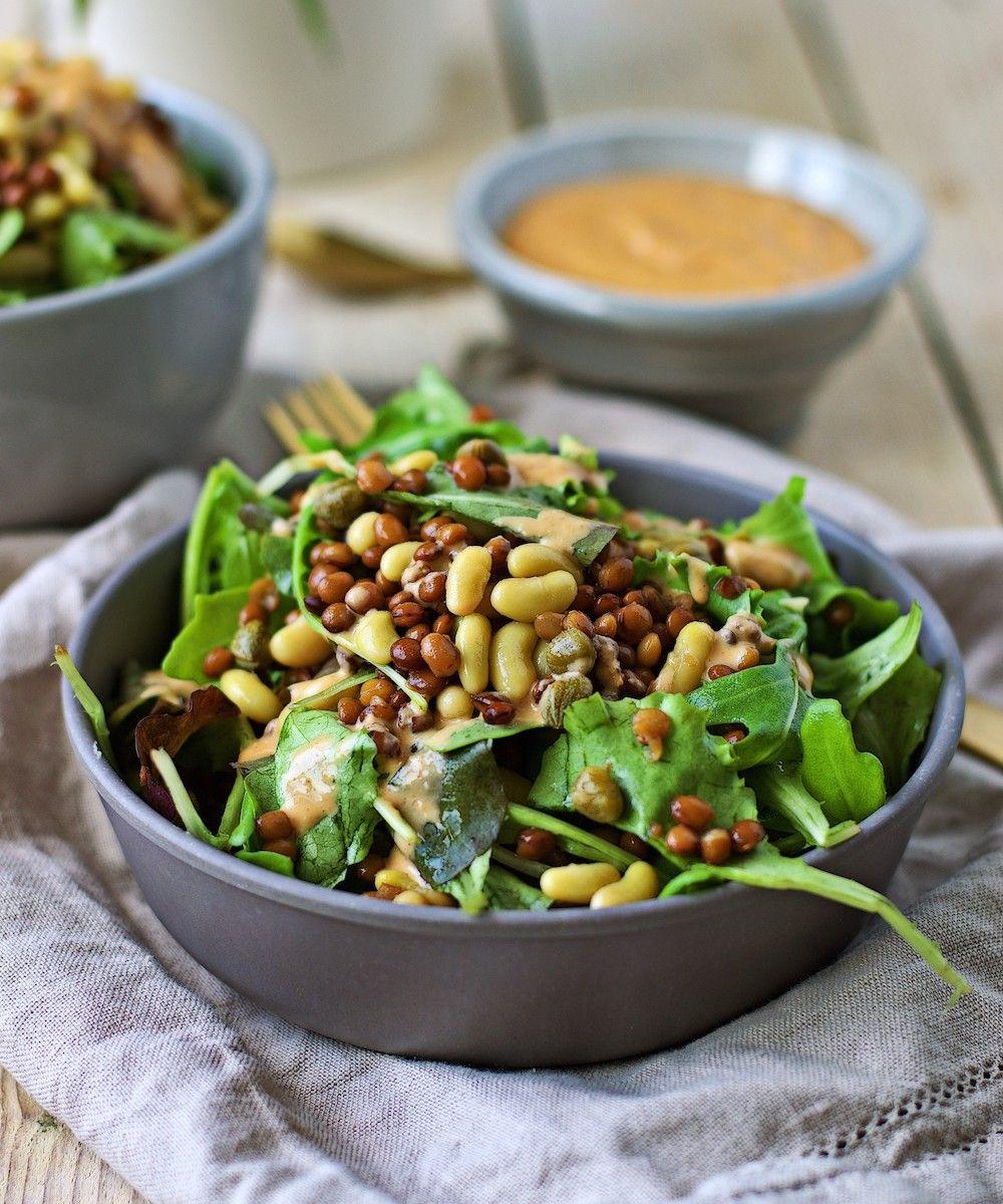 Protein Salad, High Protein