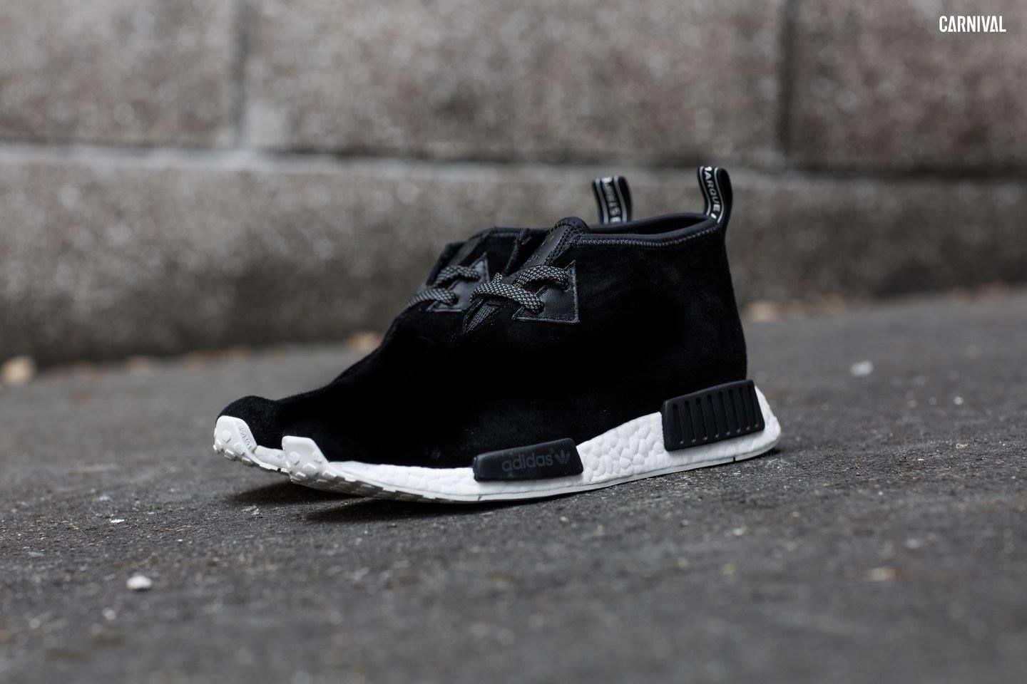 Adidas NMD Chukka C1 Black UK 10 (US 10.5) NEW LIMITED
