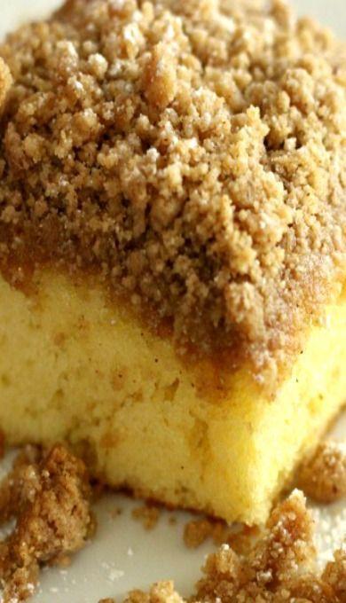 Cake Mix Coffee Cake 9x13 Moist Uses Sour Cream Cake Mix Coffee Cake Breakfast Cake Coffee Cake