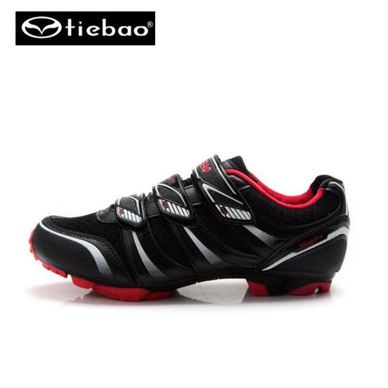 TIEBAO Professional Bicycle Cycling Shoes MTB Mountain Bike Self-Locking Shoes Men Women Nylon-fibreglass Sole Athletic Shoes