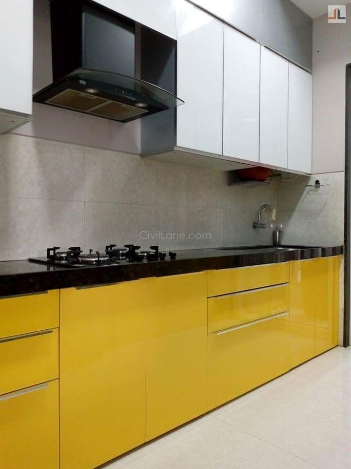 Parallel Modular Kitchen Design Mumbai