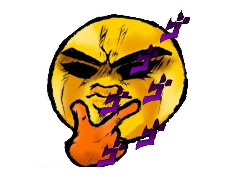 Pin By El Weon On Memes Discord Emotes Jojo S Bizarre Adventure Emoji