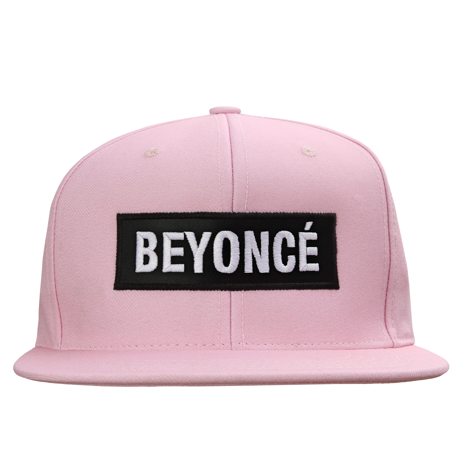 "1c18da51 Pink snapback hat with ""BEYONCÉ"" label on front.This item is a pre-order  and we expect items to start shipping in the next two weeks."