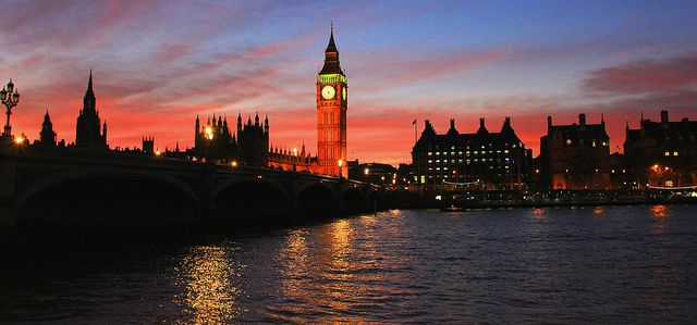 Westminster Bridge at the sunset   Flickr - Photo Sharing!