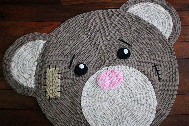 Teppich Für Kinderzimmer Häkeln Runder Teppich Grundschule