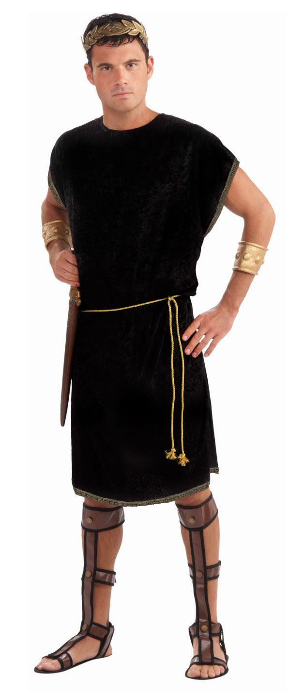 Men/'s Toga Roman Costume Greek Goddess God Halloween Party Role Play Clothes