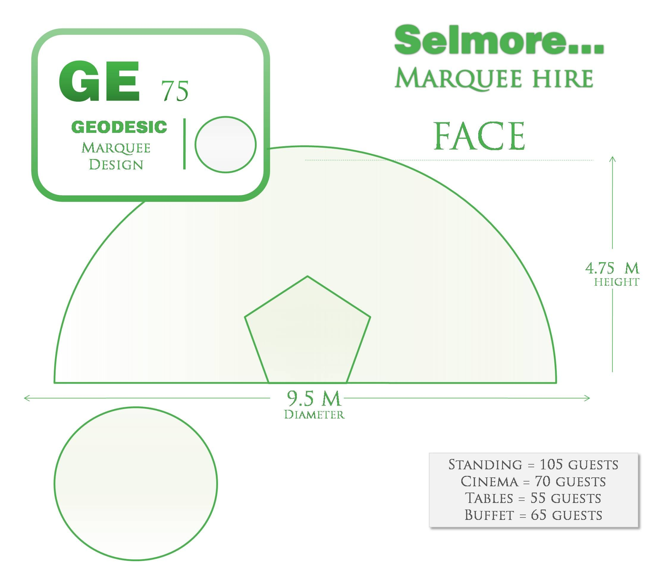 Find your ideal geodesic tent layout and dimensions with Selmore Marquees.  sc 1 st  Pinterest & Find your ideal geodesic tent layout and dimensions with Selmore ...