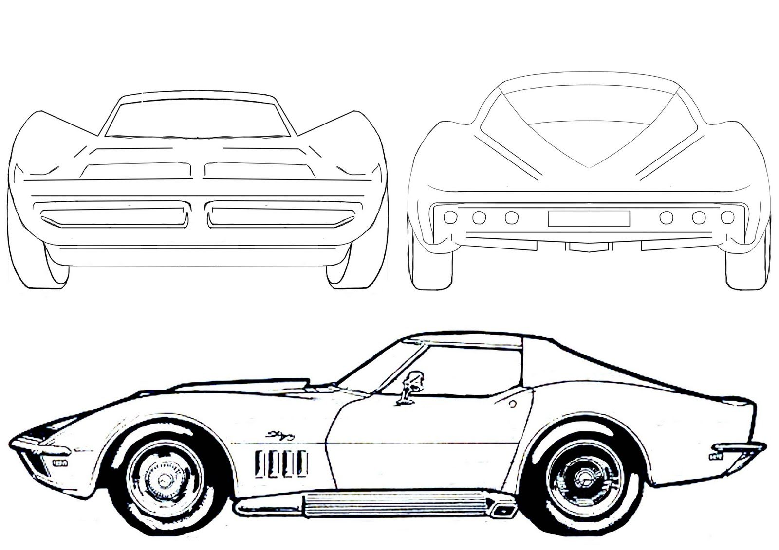 car drawings outline - Google Search | drawing | Pinterest | Car ...