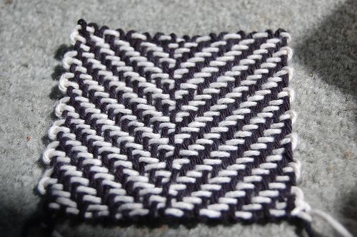 Diagonal Weave On A Weave It Pin Looms Pinterest Loom Knitting