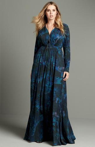 a line maxi dress plus size | Coole kleider, Plus size ...