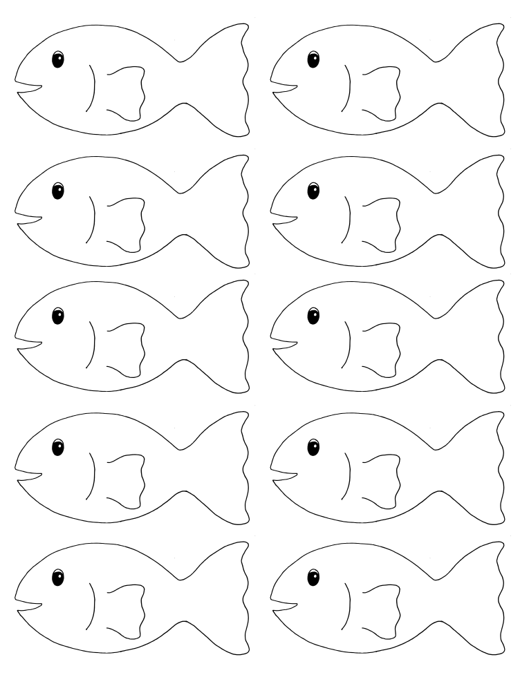 go fish printable game - Printable Fish Pictures