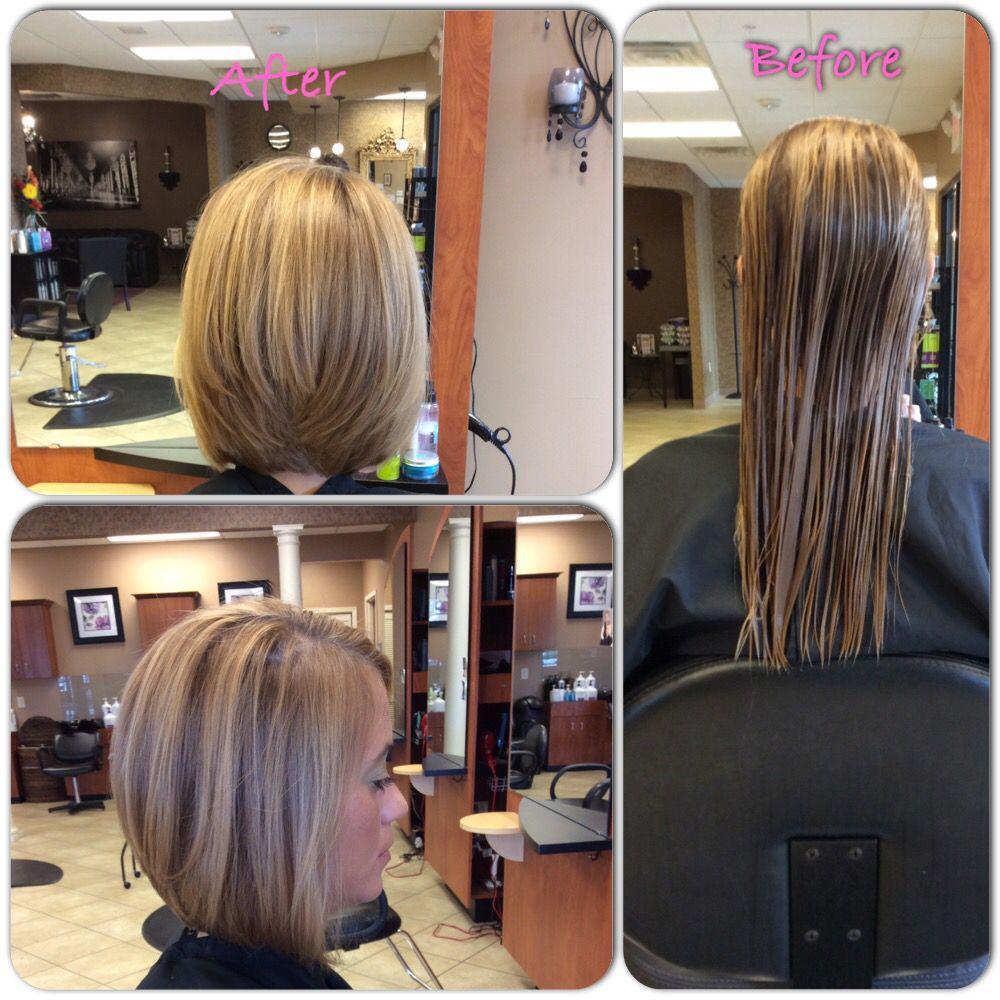 Transformation cut done by Liz #salonamissa
