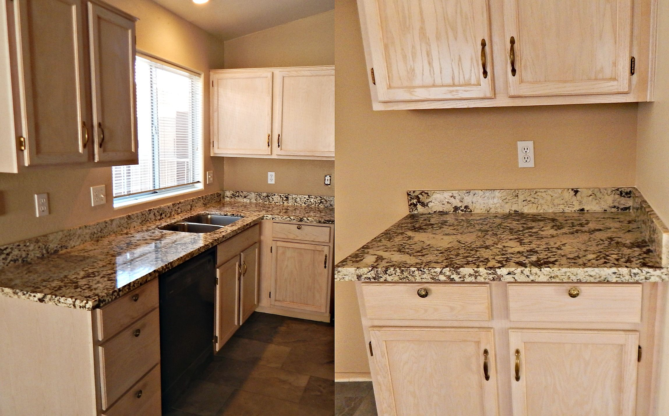 Estimate For Kitchen Remodel Countertop Remodel With Bianco Typhoon Granite Flat Polish Edge