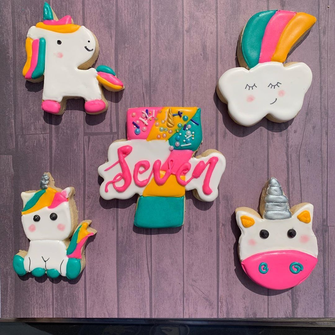 Funny Unicorn Birthday Card Party Rainbows Unicorns