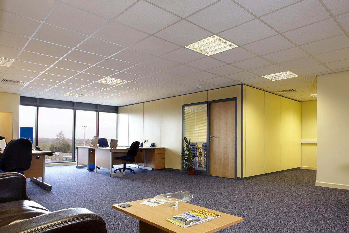 Himalyan Acoustics India Consultant And Installation Services Acoustic Ceiling Tilesoffice
