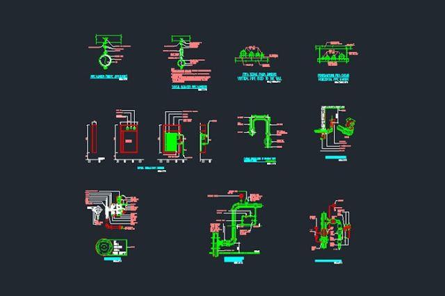 Gambar Kerja Detail Peralatan Hidran Dan Sprinkler File Dwg Kaula Ngora Kumpulan Gambar Kerja File Dwg Perencanaan Sprinkler Kerja