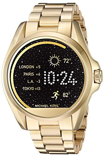 f90cf91f6aef Michael Kors MKT5001 Access Touch Screen Gold Bradshaw Smartwatch ...