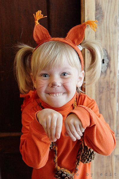 squirrel costume my crafts pinterest kost m halloween karneval und kindergarten basteln. Black Bedroom Furniture Sets. Home Design Ideas