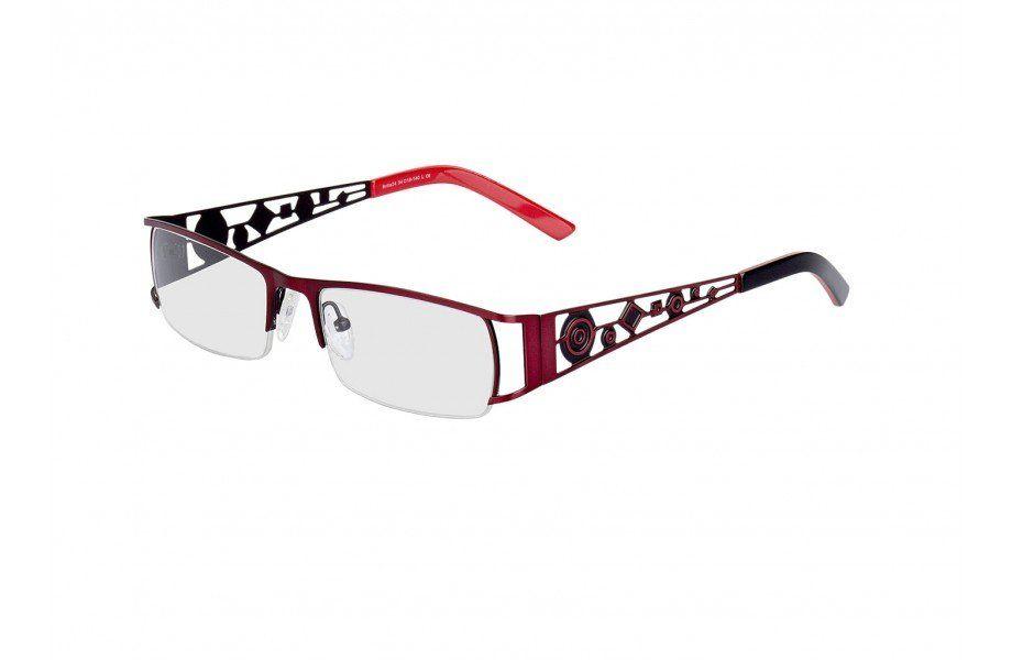 Halbrandbrille Navua - Top Brille aus Metall mit verzierten Bügeln ...