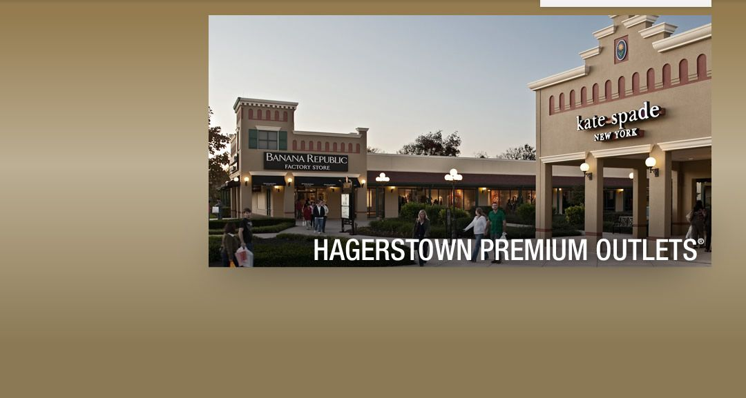 Hagerstown Premium Outlets Washington Shopping Outlet Mall Hagerstown