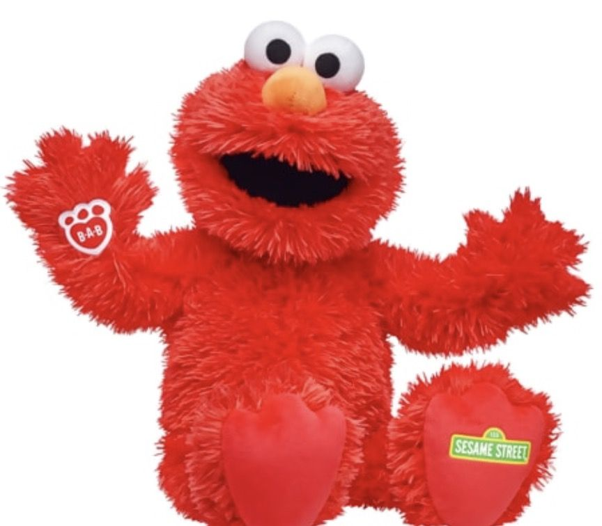 Build A Bear Sesame Street Elmo 2017 Build A Bear Workshop Build