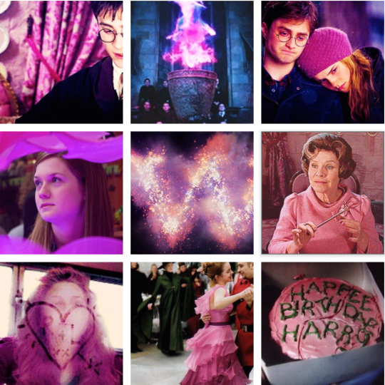 Harry Potter Pink
