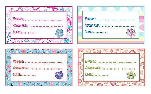 Libreta De Dibujo Mandala Unicornio Papel Blanco: Descarga E Imprime Gratis Etiquetas Para Cuadernos