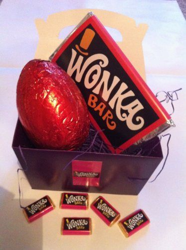 Willy wonka bar with golden ticket easter egg gift boxed set buy willy wonka bar with golden ticket easter egg gift boxed set buy new negle Images