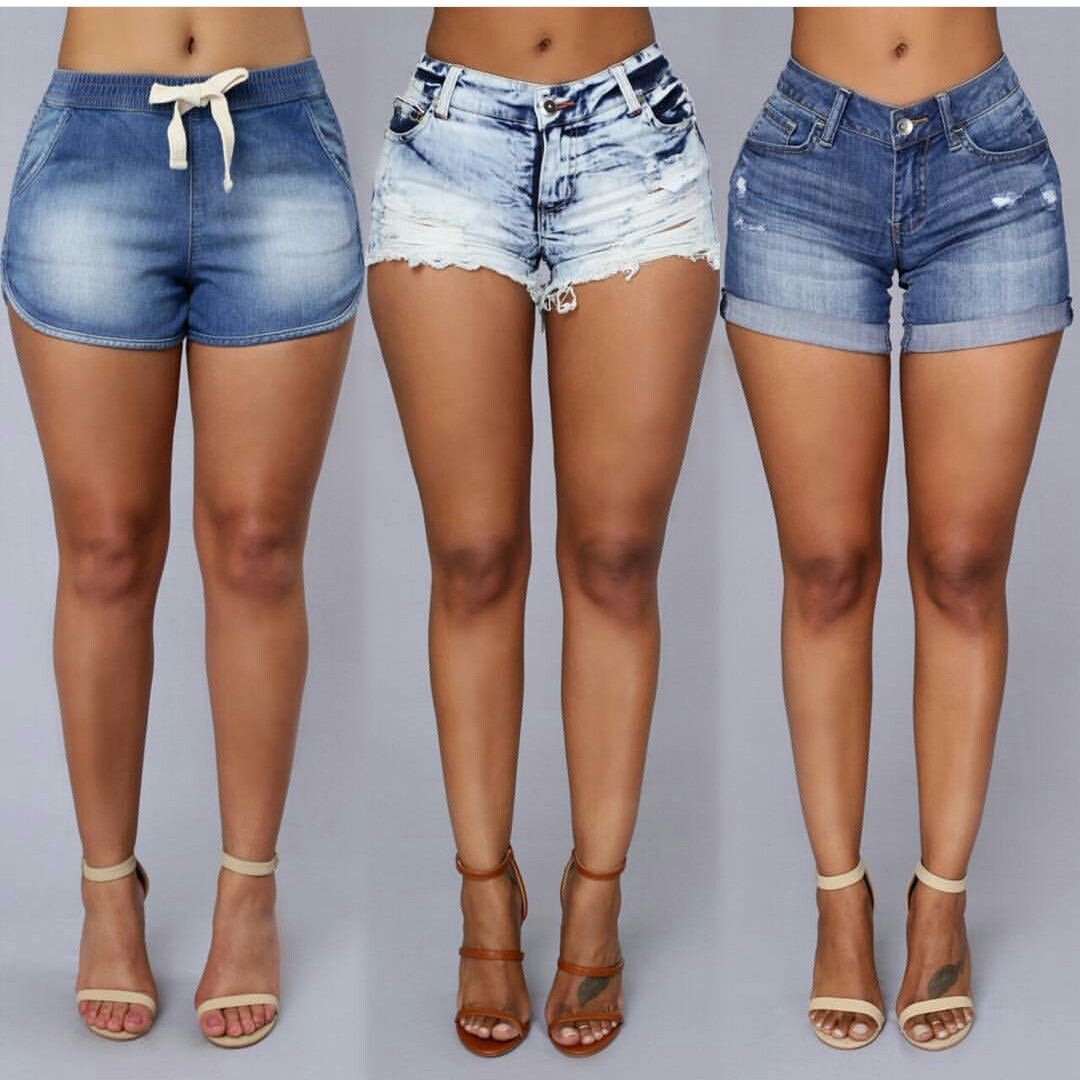 43c08ab61e80 Short jeans | Super Fashion en 2019 | Moda femenina, Zapatos sexys y ...