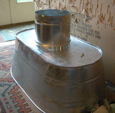 Love This 3 Pinner Vent Hood Using Large Galvanized Washtub Interesting Kitchen Vent Wash Tubs Kitchen Ventilation