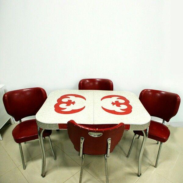 Retro Dining Rooms, Retro Dining