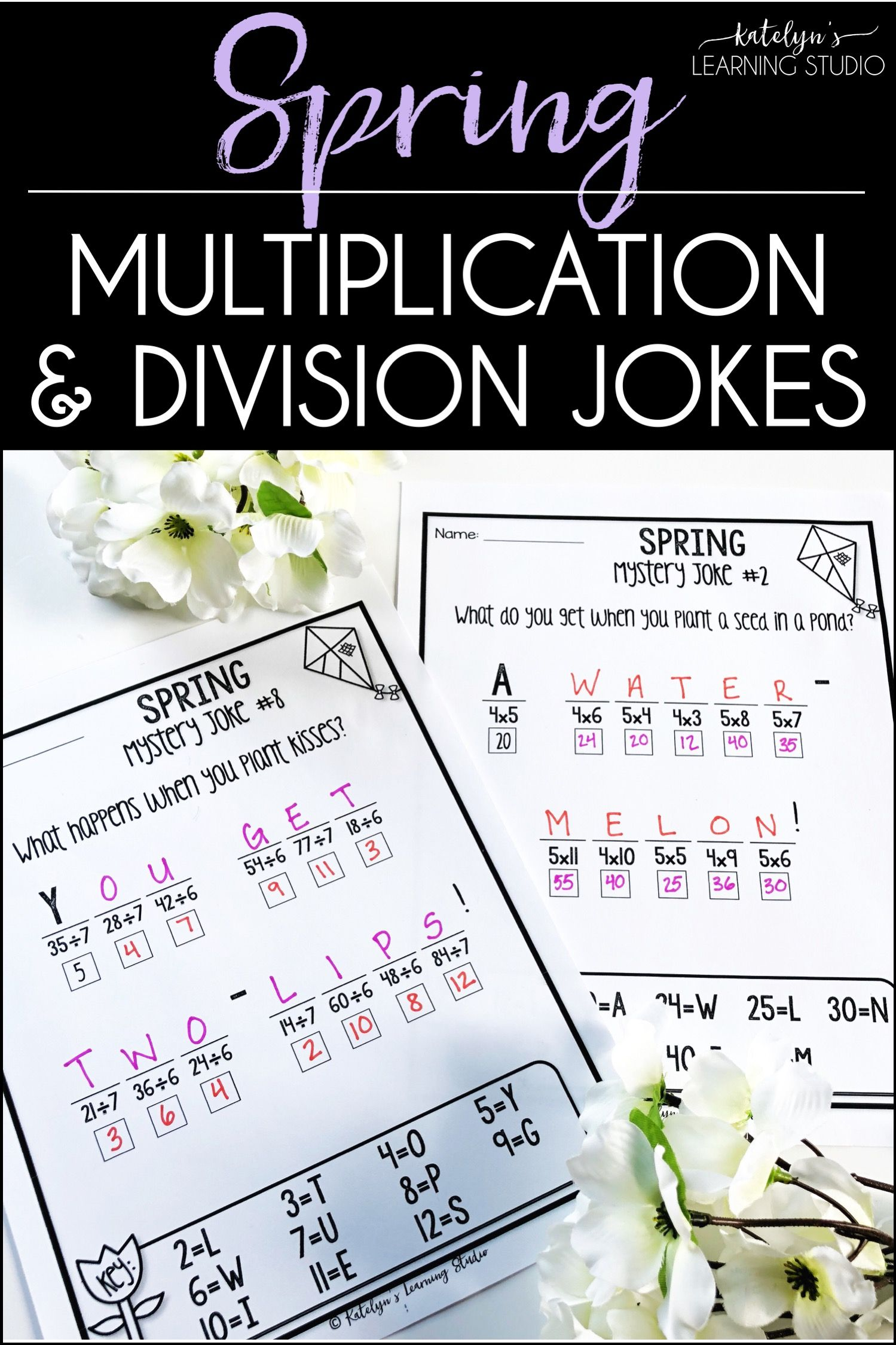 Spring Multiplication And Division
