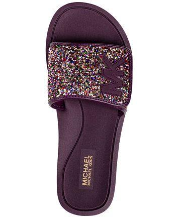 ee50dbe442c7 MICHAEL Michael Kors MK Slide Flat Sandals