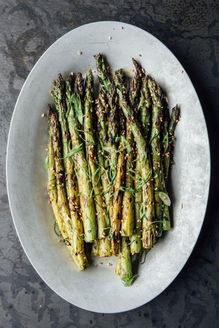 Gingermiso grilled asparagus recipe asparagus recipe