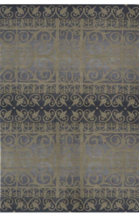 Momeni Radiance RD02 Slate Rug. Area rug, carpet, design