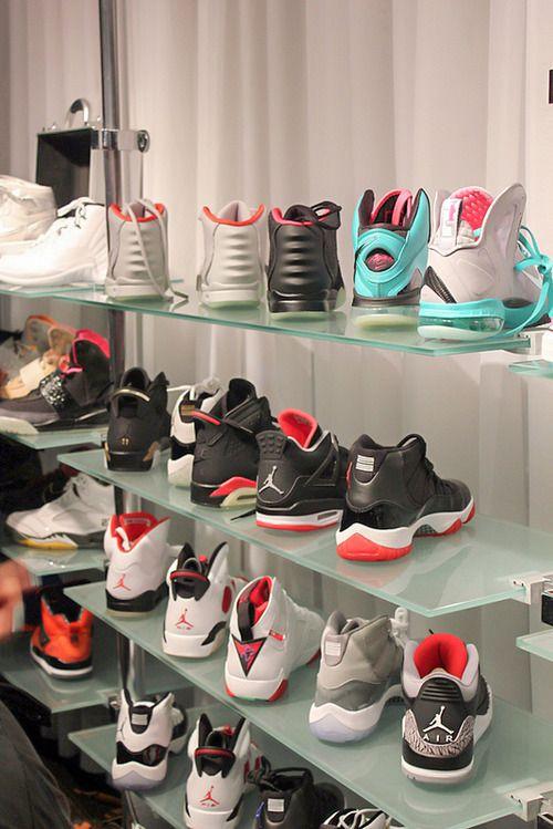 Jordans Closet Blxster JORDANS On We Heart It
