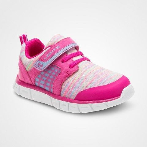 e6e011c2fa08 Surprize by Stride Rite Toddler Girls  Clarissa Performance Athletic Shoes  Pink