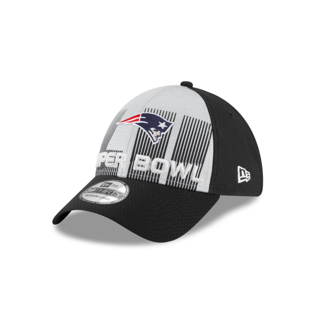 wholesale dealer 3b7ef 9130a NEW ENGLAND PATRIOTS SUPER BOWL LII 39THIRTY STRETCH FIT