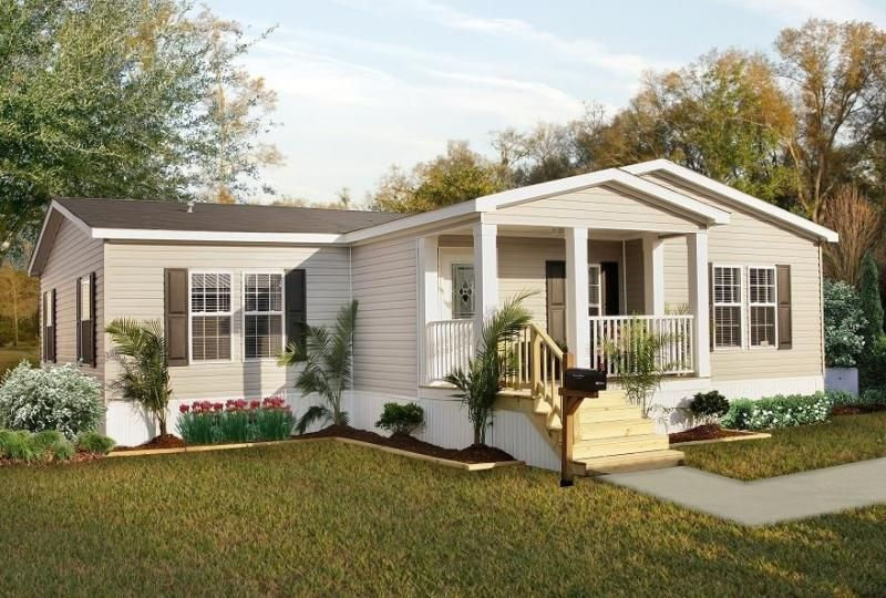 Pin By Valerie Perez On Home Designs Mobile Home Exteriors Double Wide Remodel Double Wide Home
