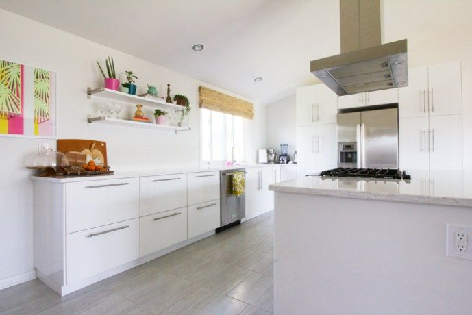 Ikea Ringhult Kitchen Renovation With White Quartz Countertops    What We  Really Think